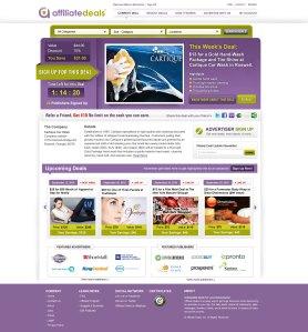 Affiliate Deals Landing Page