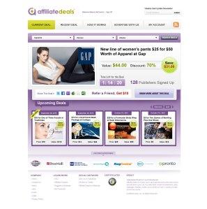 Affiliate-Deals-Landing Page