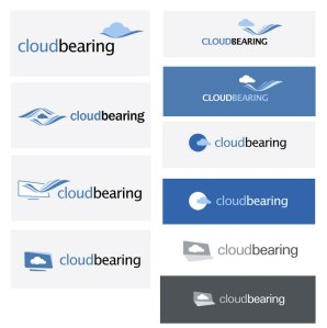 Cloud Bearing logo Design