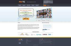 mytc-homepage UI Design