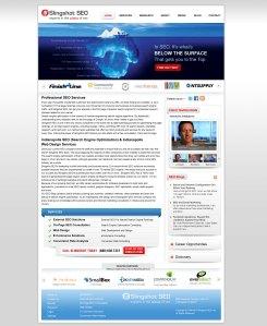 SlingShotSEO UI Design