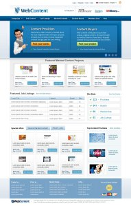 WebContent-HomePage-UI Design
