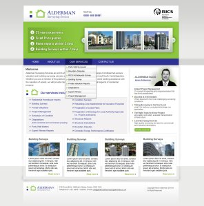 aldermans-homepage-UI Design