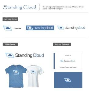 Standing Cloud Final Logo Design
