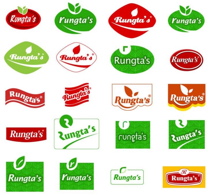 Rungta's-logo design