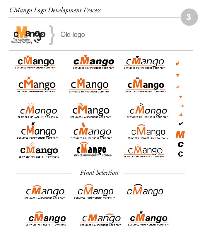 cMango Logo Design Process 03