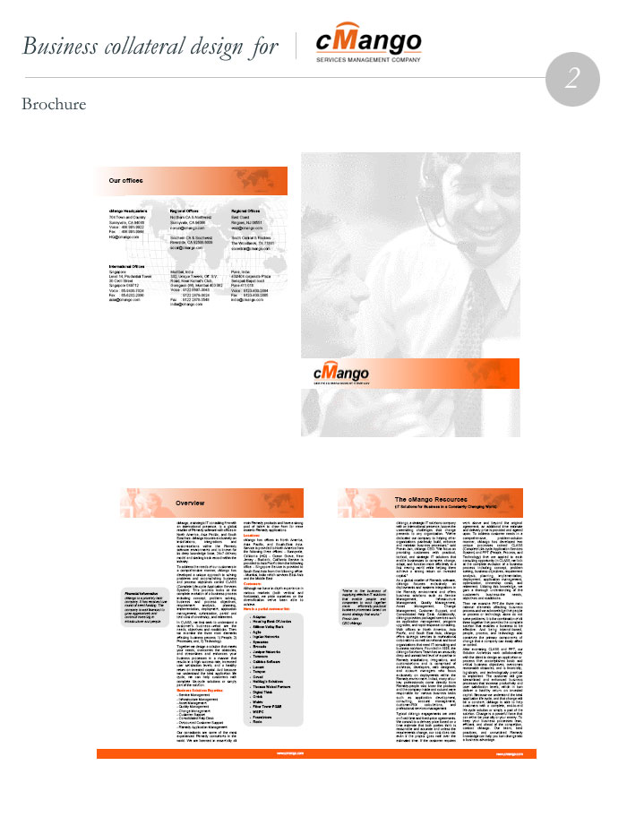 cMango-Brochure Design