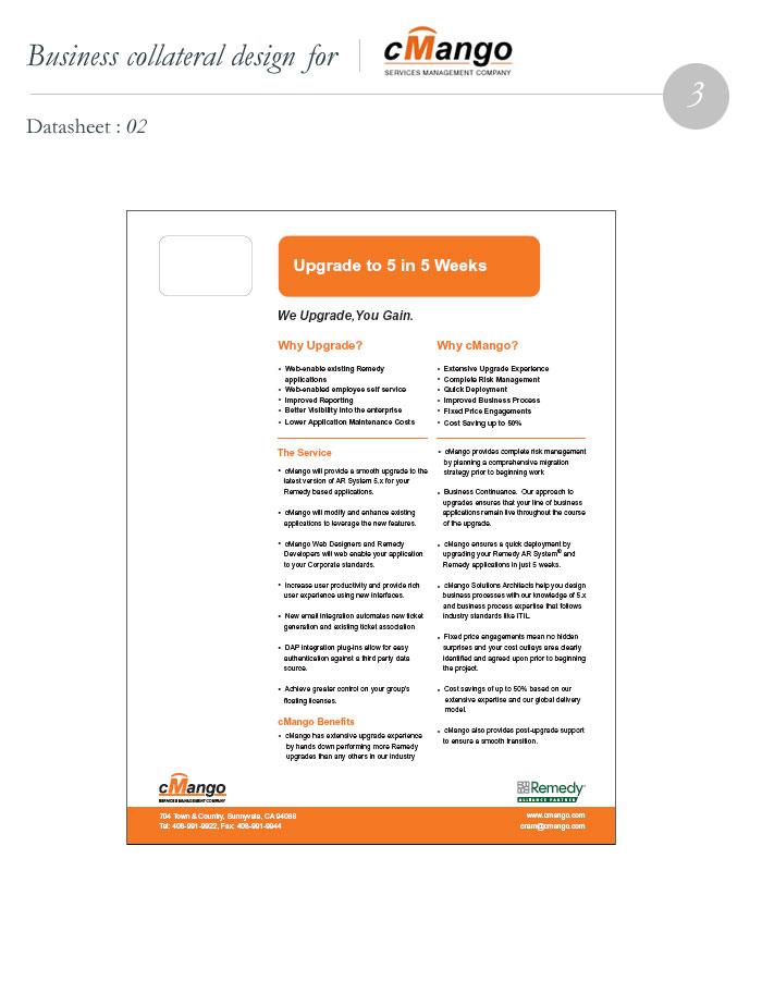 Mango-Datasheet Design