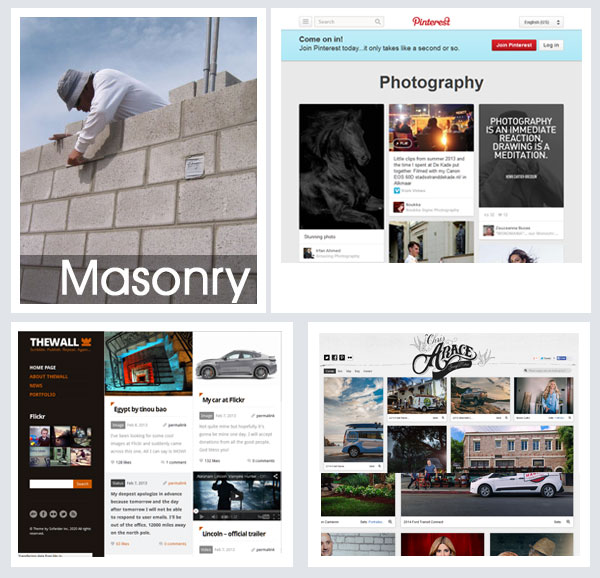 Defining Masonry Layout