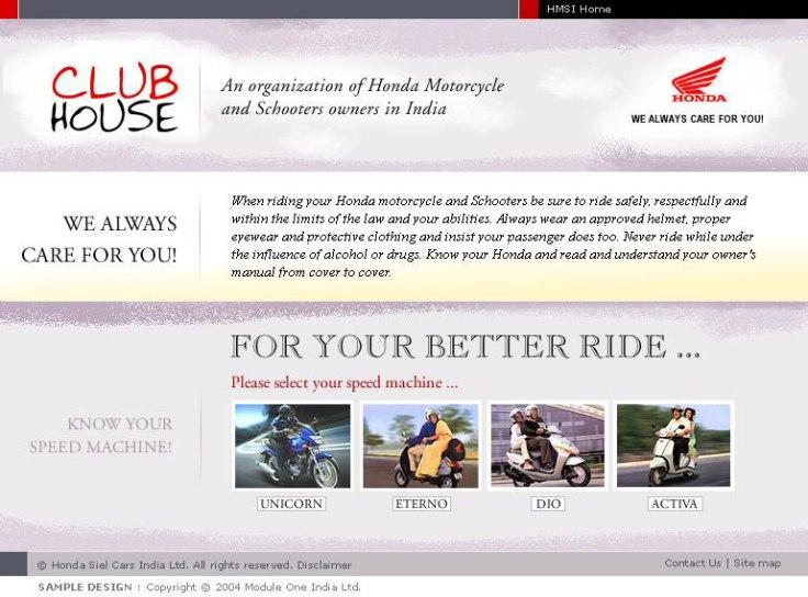 Honda Club House