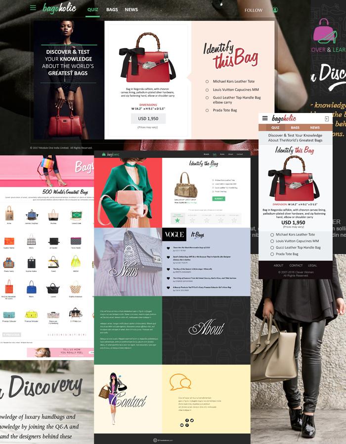 Designer Handbags UI